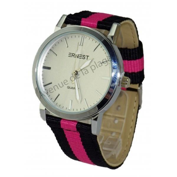 Ernest femme bracelet tissus Cette montre pour femme de la marque