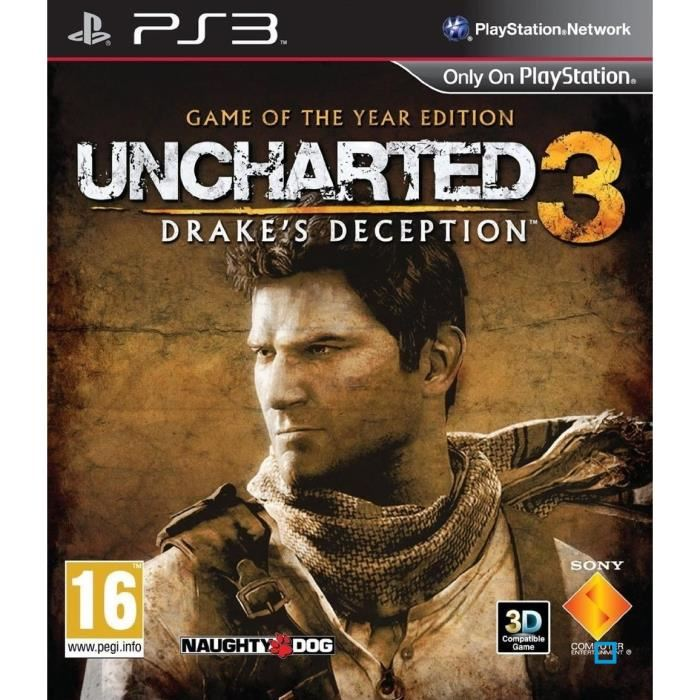 UNCHARTED 3 DRAKE'S DECEPTION GOTY / PS3 Achat / Vente jeux ps3