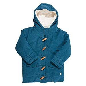 Frugi Vestes et manteaux enfant Manteau fille vert, 100% coton bio