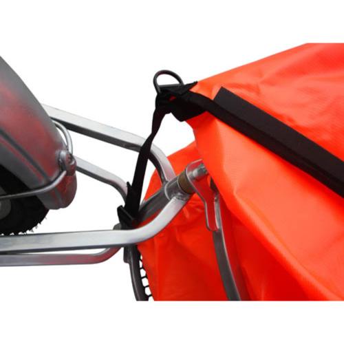 Vidaxl Remorque à vélo monoroue pliable pas cher Achat / Vente