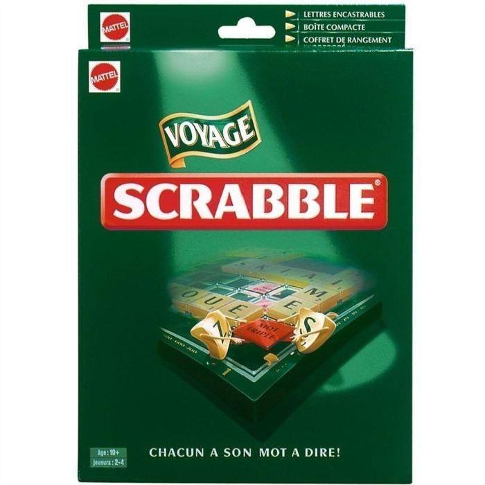 Scrabble Voyage de Luxe Achat / Vente jeu société plateau
