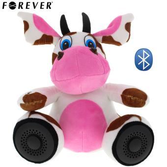 Peluche Animal Vache Haut Parleur Bluetooth Fonction Kit Main Libre