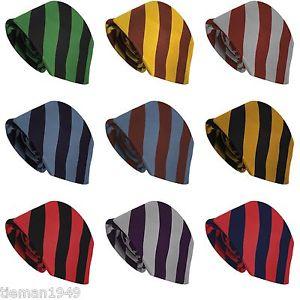 Choisissez Votre Cravate Collège 23 Modèles DE Rayures