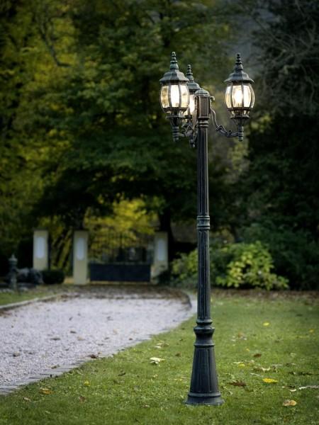 Candélabre classique Lampadaire extérieur Lampe de jardin Lampe sur