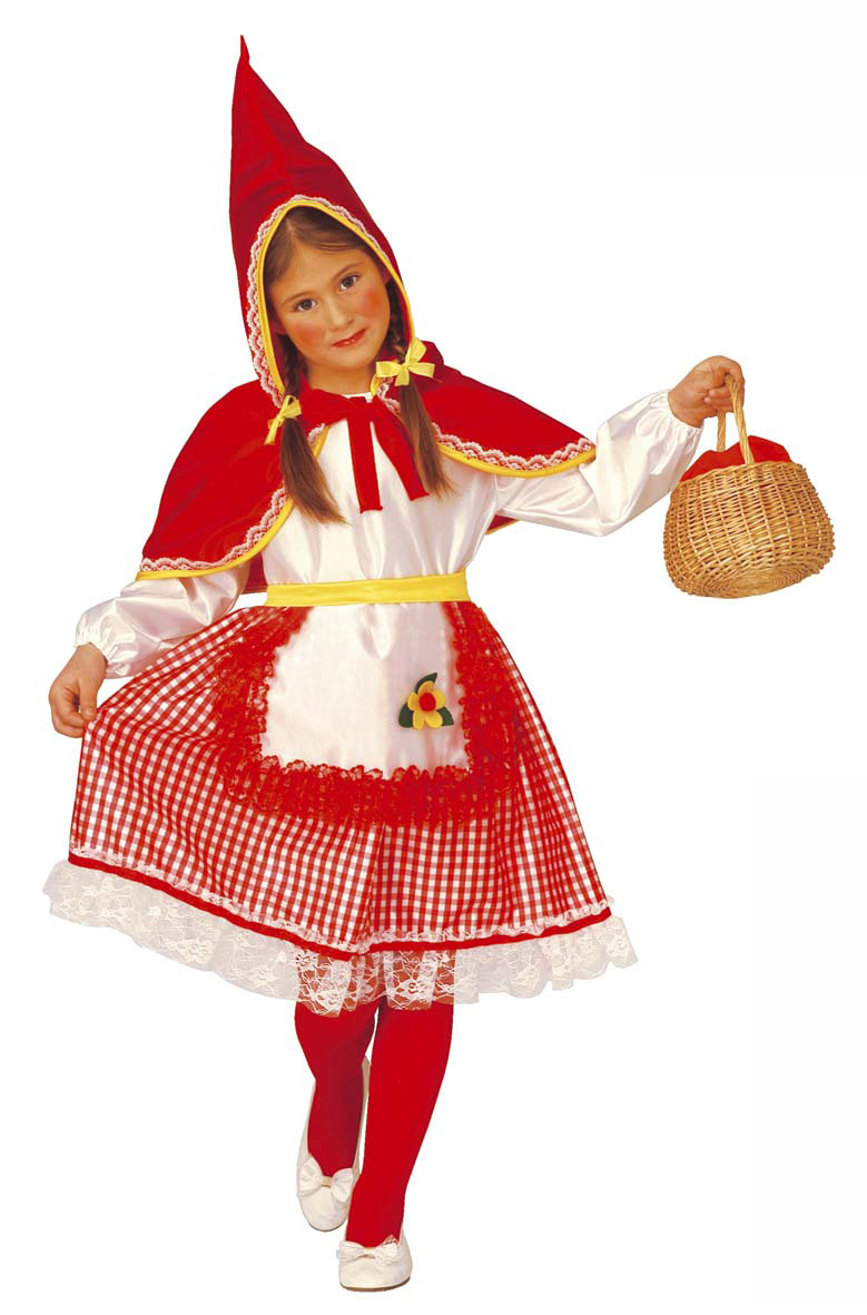 Déguisement chaperon des bois rouge fille Costume