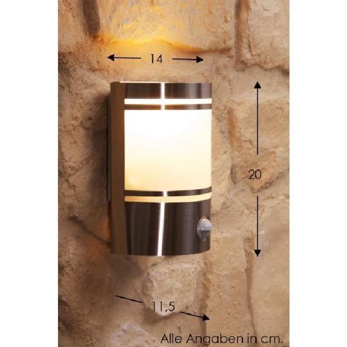 Applique extérieure Lampe de jardin Spot Détecteur Achat / Vente