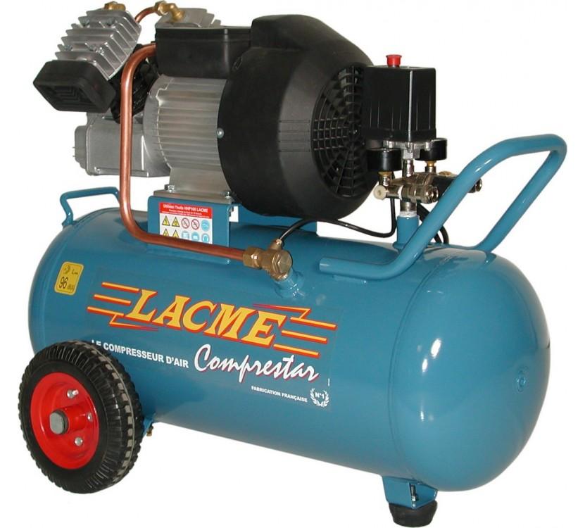 Compresseur d'air pneumatique monobloc 50 litres 10 bar