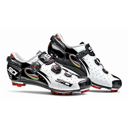 Sidi Chaussures Drako Carbon Srs Blanc/Noir/Iride pas cher Achat