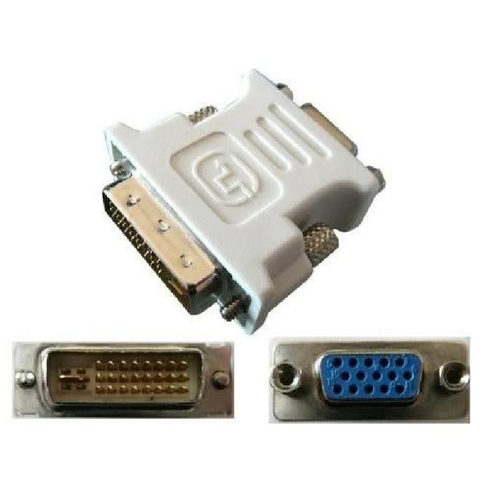 Adaptateur DVI Dual Mâle / VGA Femelle câble connectique, prix