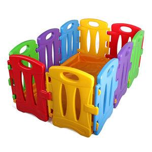 Parc D'Enfant EN Plastique 10 PCS Fosse Barrière DE Sécurité