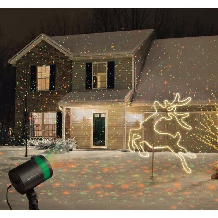 Lumière laser Projecteur de plein air Twinkling étoiles Lumières