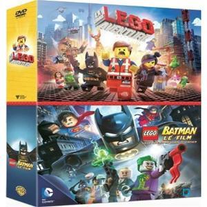DVD COFFRET LEGO (MOVIE + BATMAN) 2DVD