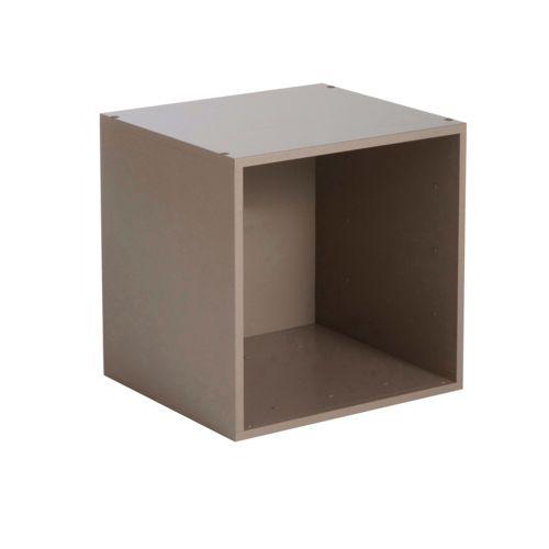 Etagère cube en bois L35cm personnalisable Multikaz 483519 pas cher