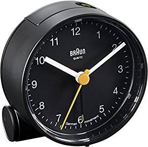 Braun BNC001 Réveil Noir: Cuisine & Maison