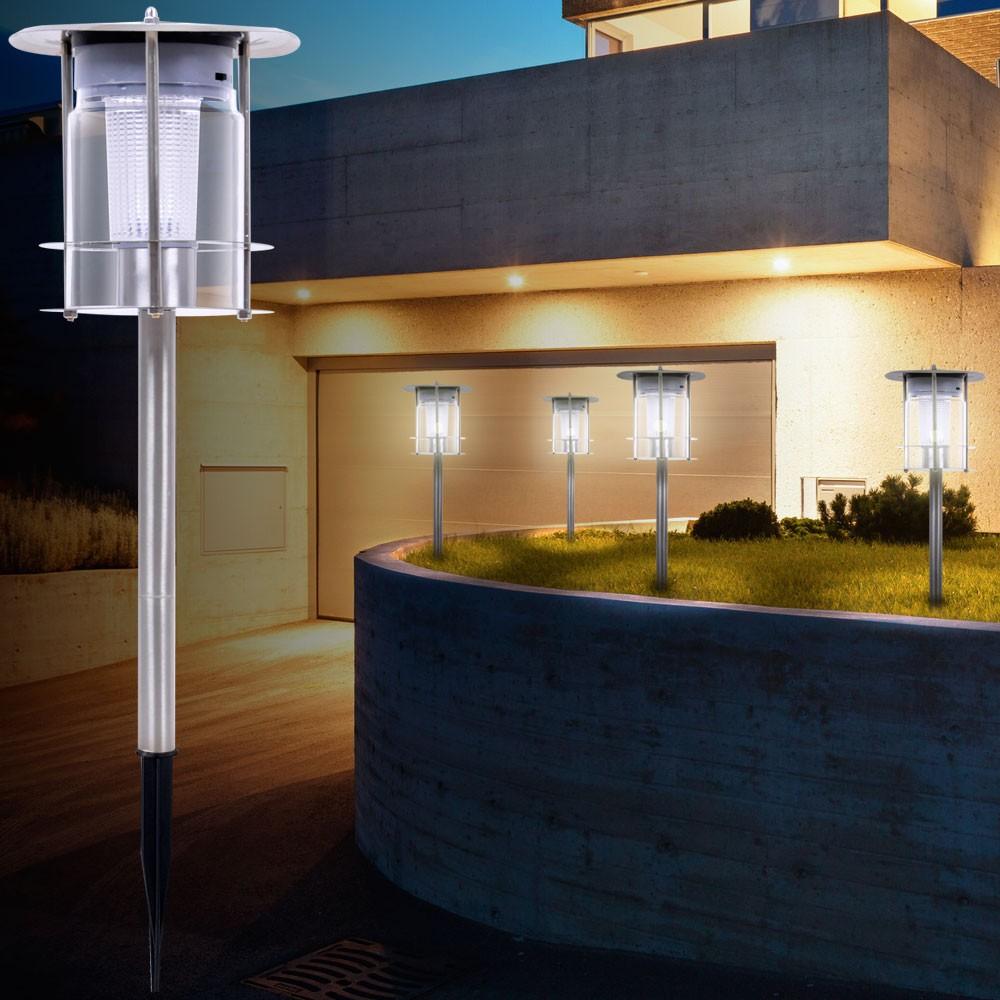 Lampadaire solaire à LED très élégant pour l'espace extérieur