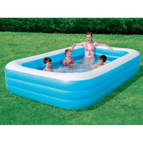 Pool Zen Spa Piscine gonflable Bestway Deluxe Ibeam rectangulaire
