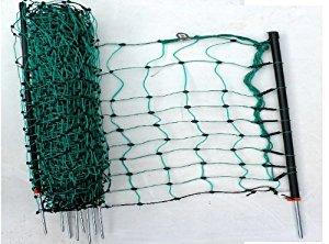 vert 108 cm jusqu'à 50 m de long filet de clôture avec 14 poteaux