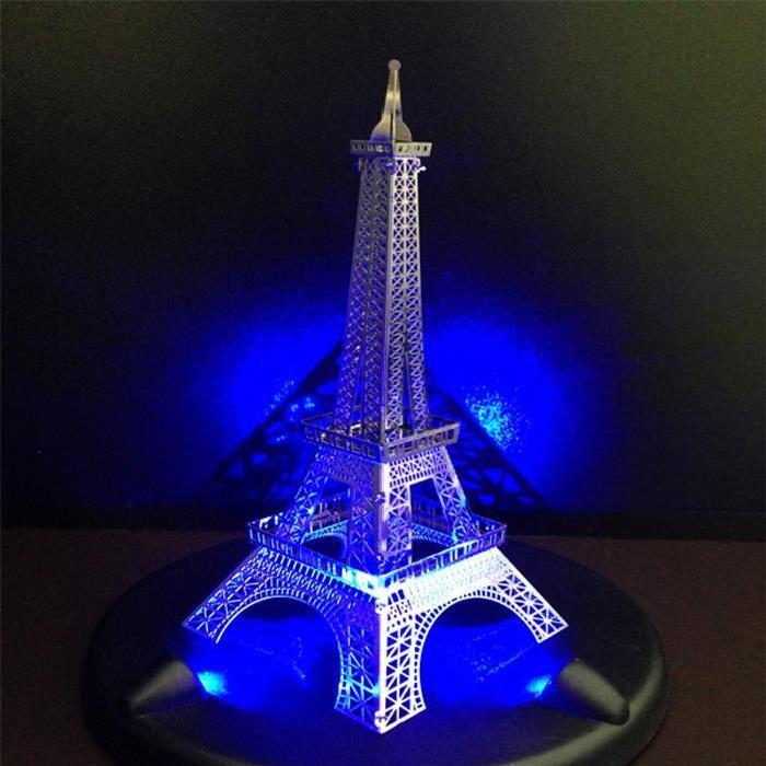 Puzzle 3D Tour Eiffel Puzzle jouets éducatifs avec base de LED 3D