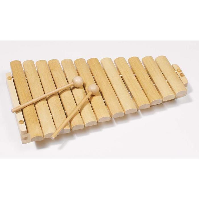 Xylophone en bois avec 12 tons Achat / Vente instrument de musique