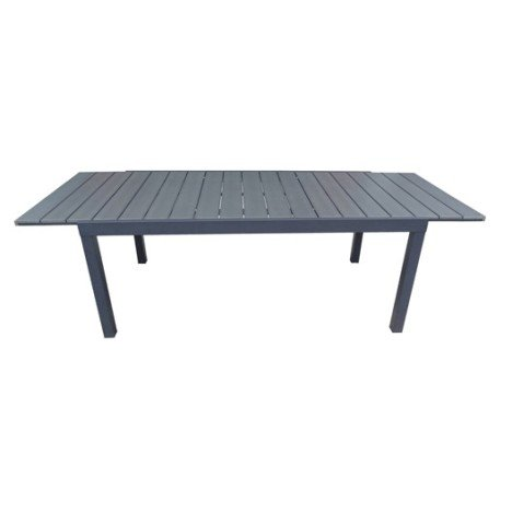Table de jardin NATERIAL Pratt rectangulaire gris |