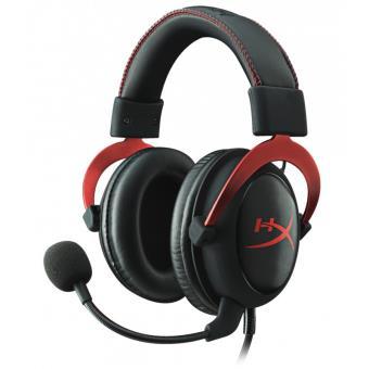 Casque Gaming HyperX Cloud II Noir et rouge Casque Achat & prix