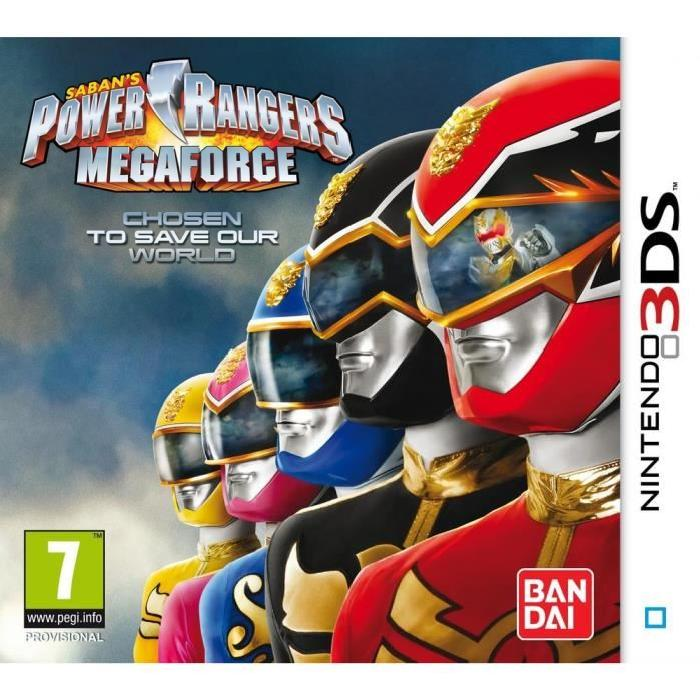 Power Rangers Samurai Mega Force Jeu 3DS Achat / Vente jeu 3ds Power