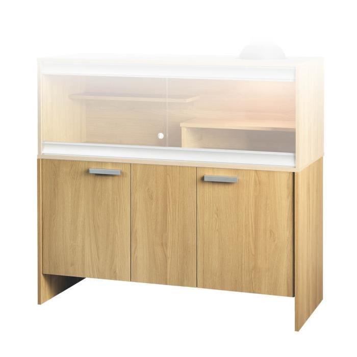 les meubles Viva s'ajustent directement sous le terrarium en utilisant