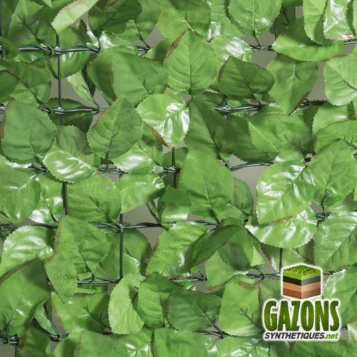 France Green Haie Artificielle Feuilles de Rosier 1m50 x 3m pas