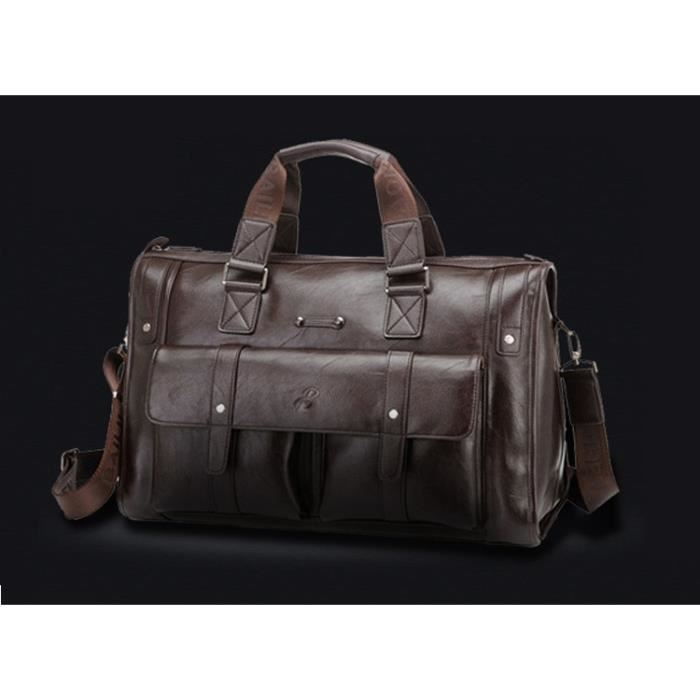 Sac Sacoche Homme Luxe Porte Document Promotion Exceptionnelle Hiver