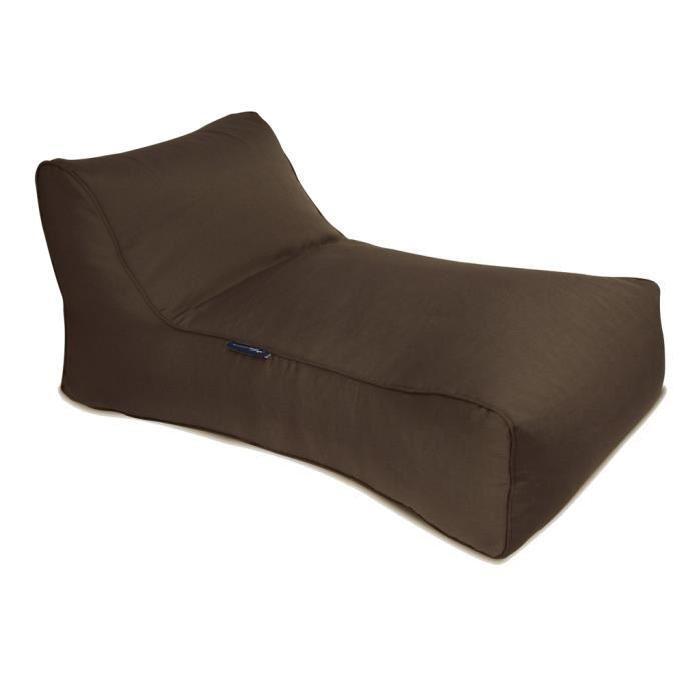 Pouf extérieur Studio Lounger Outdoor Marron Achat / Vente chaise