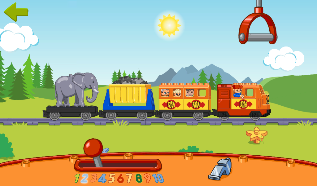 LEGO® DUPLO® Train: App Shop pour Android
