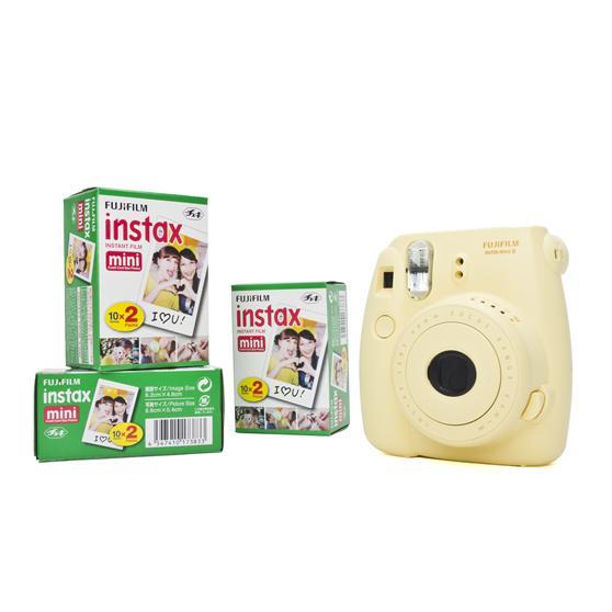 Pellicule 60 Poses Jaune Fujifilm Appareil Photo Instantané