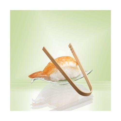 Pince arc bambou écologique jetable 10 cm par 50 pas cher Achat