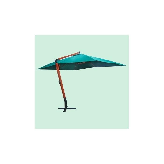 Grand parasol déporté 4×3 m (Vert) Achat / Vente parasol ombrage