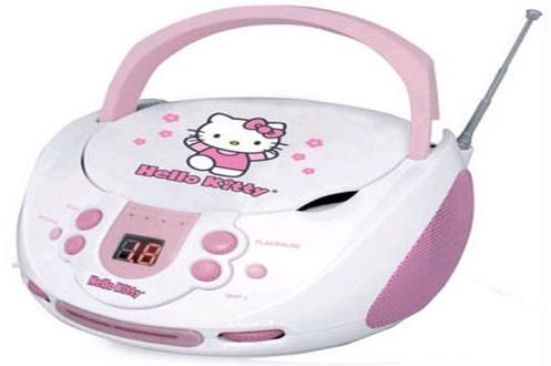 Radio CD / Radio K7 CD Hello Kitty KT2024A (1317202)