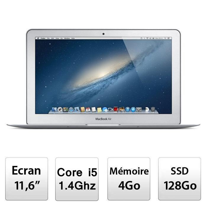 Apple Ordinateur Portable MacBook Air 11″ MD711F/B Prix pas cher