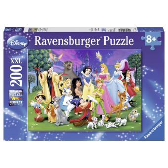Puzzle 200 Pièces Grands Personnages Disney Ravensburger 100 300