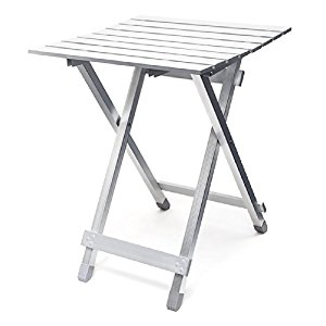 Table pliante aluminium Table d'appoint jardin camping
