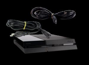 console ps4 origine modèle cuh 1116 a 500 go en noir support power