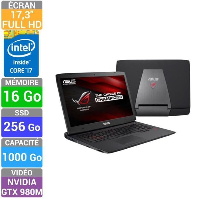 Asus PC Portable Gamer G751JY T7004H Prix pas cher Soldes* d