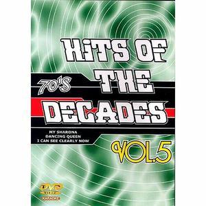 DVD MUSICAL DVD KARAOKÉ HITS OF THE DECADES VOL.05 Années 70 1
