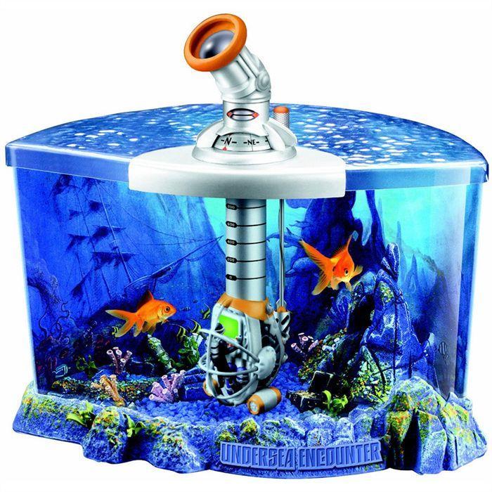 Aquarium d'observation sous marine + décor Achat / Vente nature