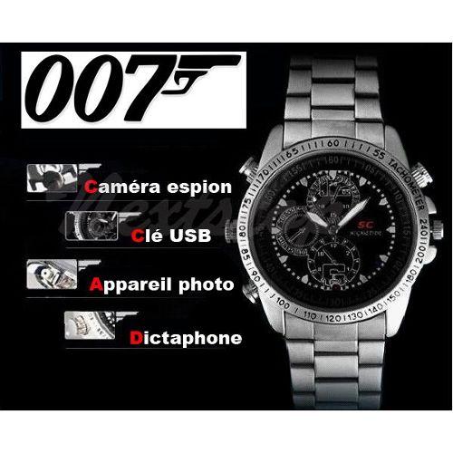 Montre Caméra Espion Sc007 8go Hd Multifonctions Achat et vente
