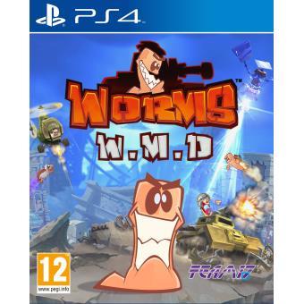 Worms WMD PS4 sur Playstation 4 Jeux vidéo top prix