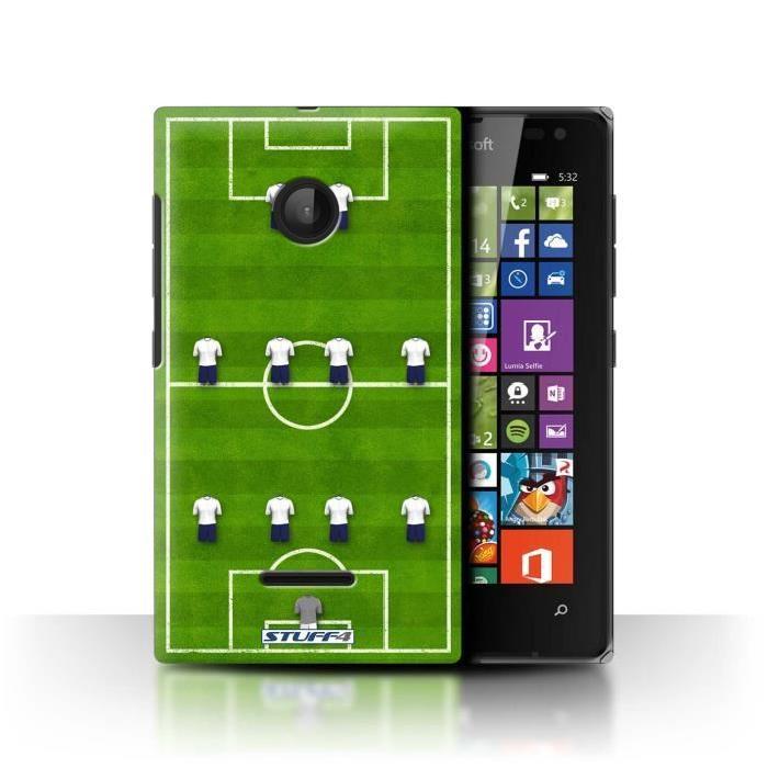 Coque de Stuff4 / Coque pour Microsoft Lumia 532 / 4 4 2/Blanc Design