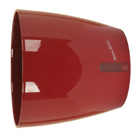Pot polypropylène à réserve d'eau RIVIERA Diam.36 x H.34 cm rouge