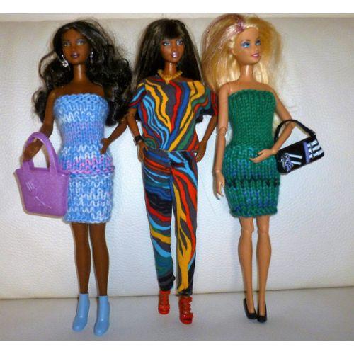 Avis sur » Lot De Vêtements Et Accessoires Pour Poupée Mannequin
