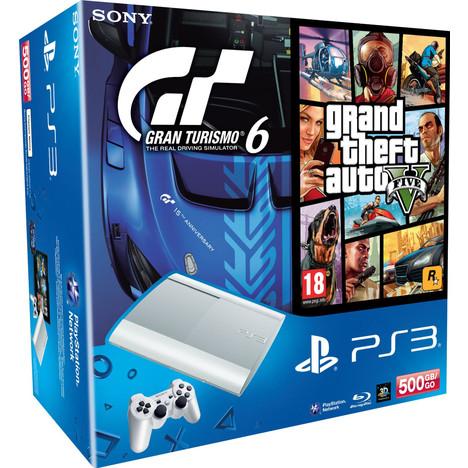 Jeux video PS3 Consoles PS3 Console PS3 500 Go Blanche + 2 Jeux