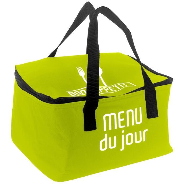 Isotherme Menu Du Jour Vert. Achat / Vente lunch box bento Lunch