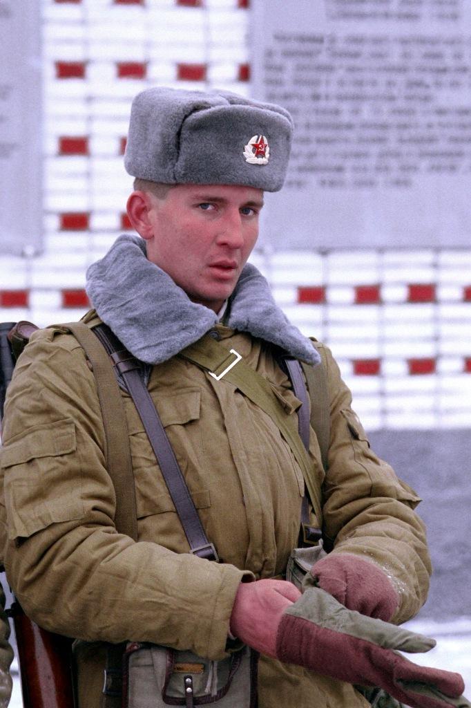 Sz.58 Russe Soldats chapka URSS Chapeau d'Hiver Armée